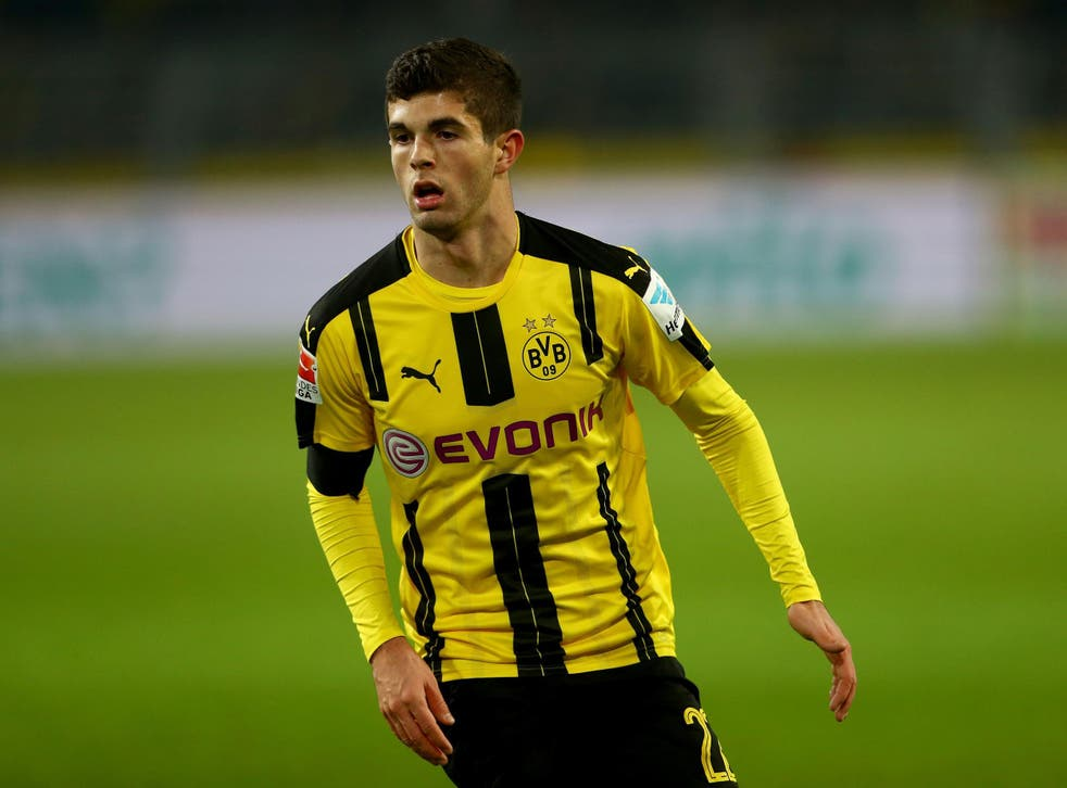 Pulisic is quickly becoming one of European football's hottest prospects