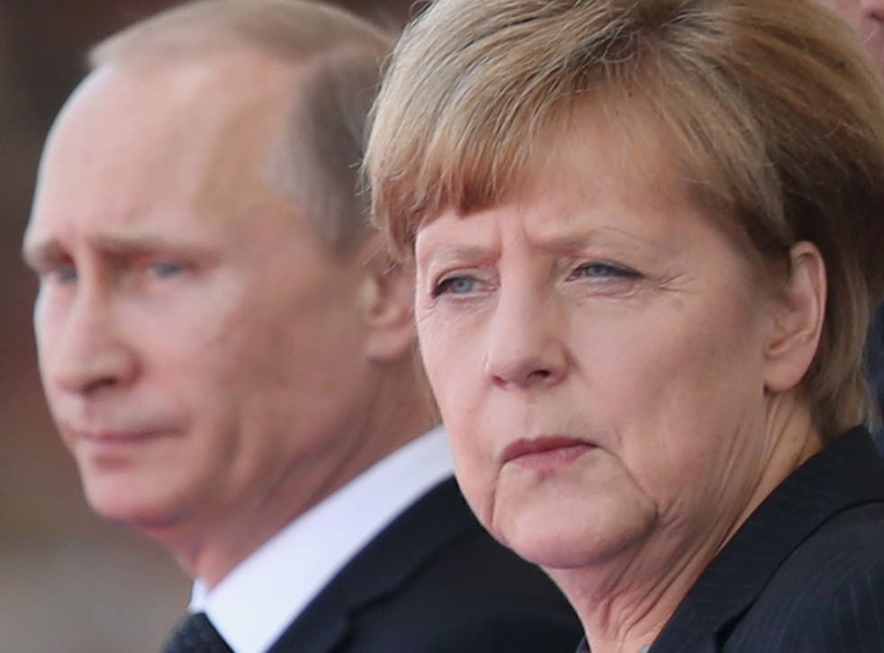 Angela Merkel says it will be 'necessary to extend the sanctions against Russia again'