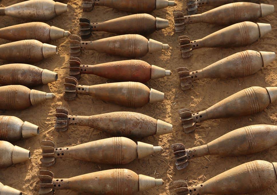 Isis manufacturing military standard weapons on an 'industrial scale