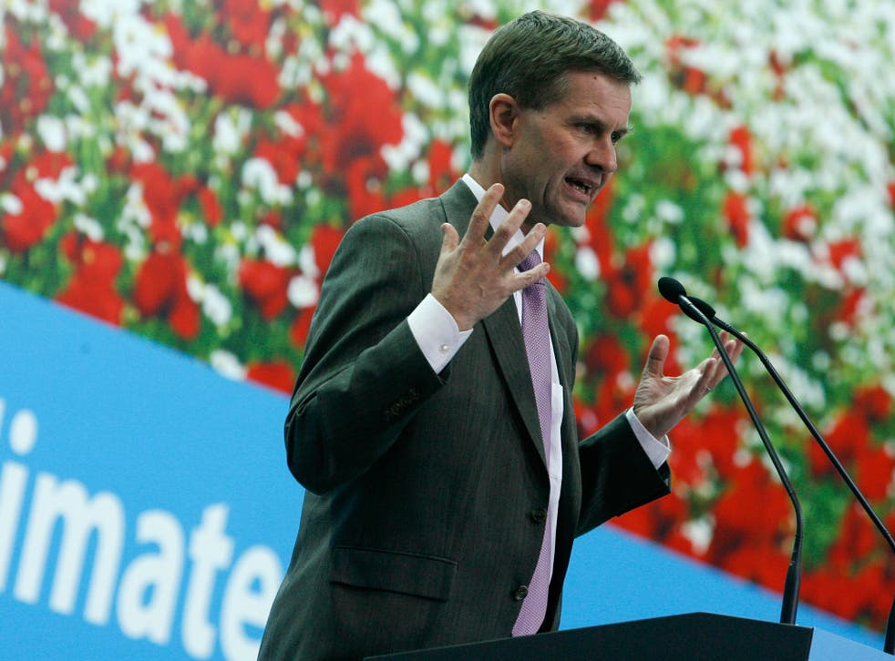 Erik Solheim, executive director of the UN Environment Program,