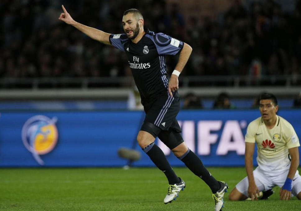 Real Madrid vs Club America live  Cristiano Ronaldo goal given after ... d01bc5e61