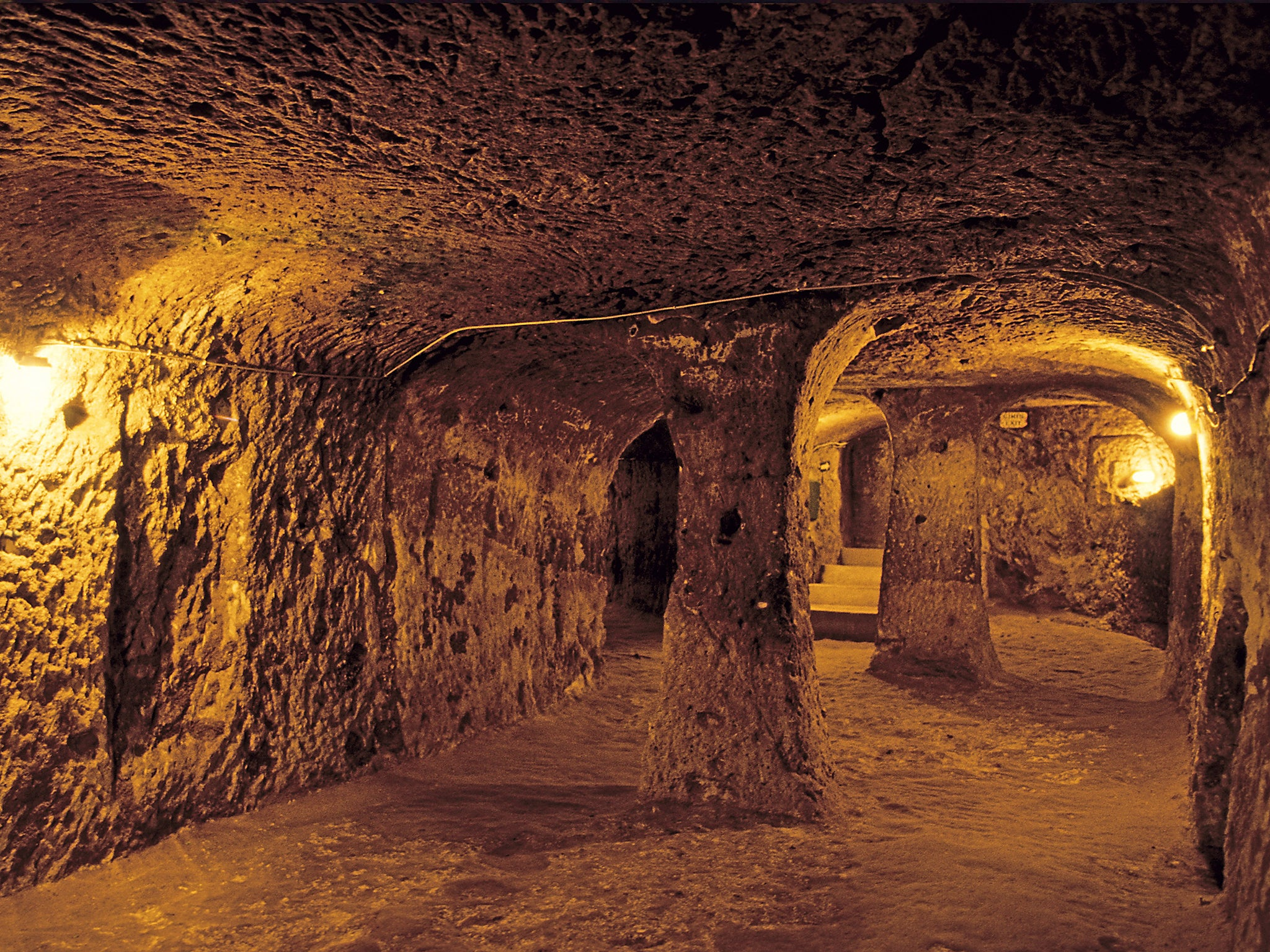 Inside the incredible underground city that once housed ...