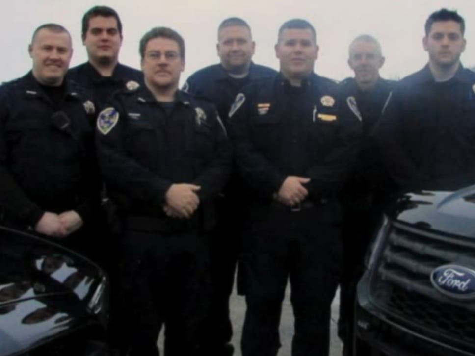 Five members of the force resigned leaving