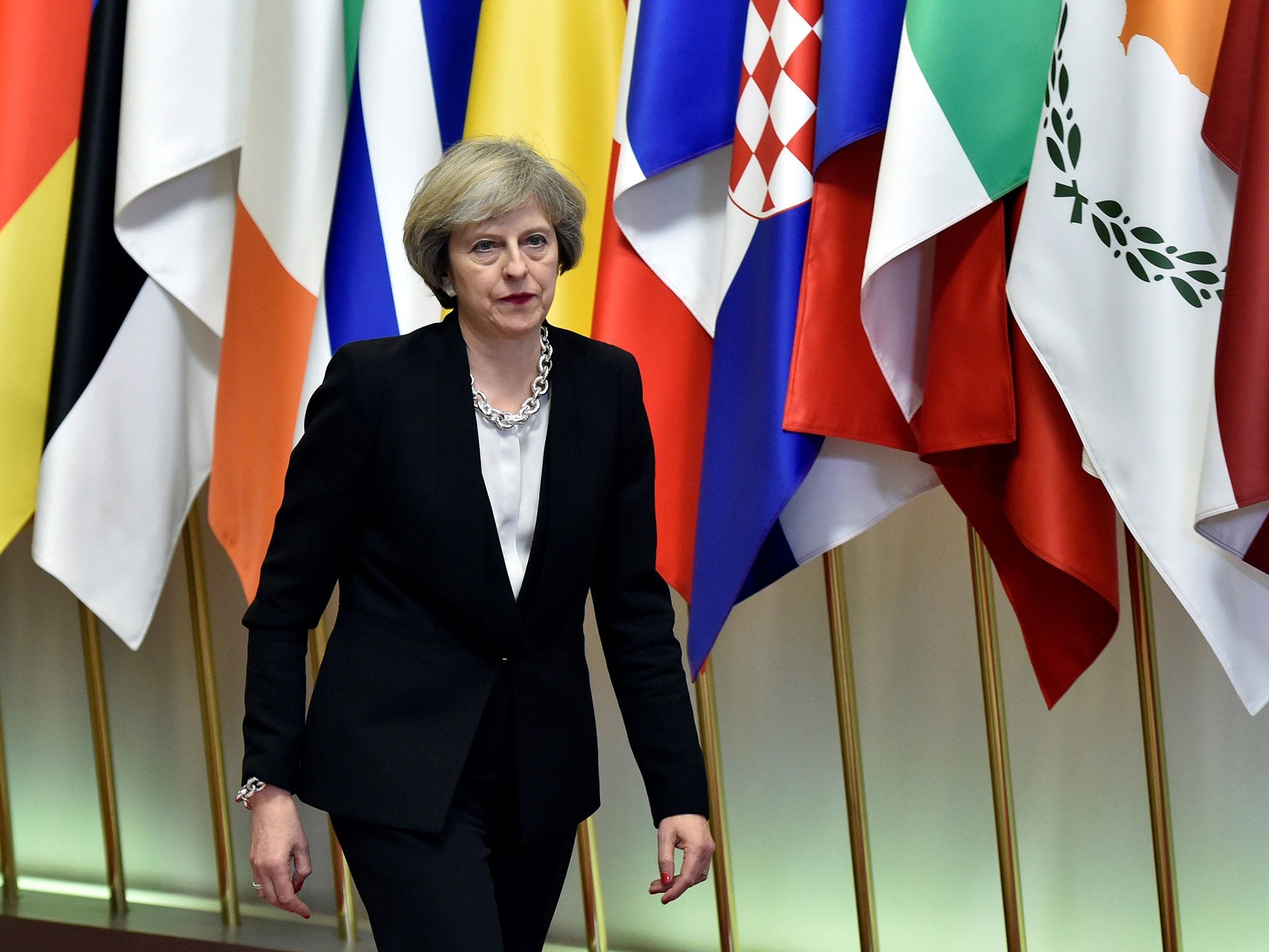 'I think I'd better leave now' Theresa May said to EU leaders when they refused to discuss Brexit