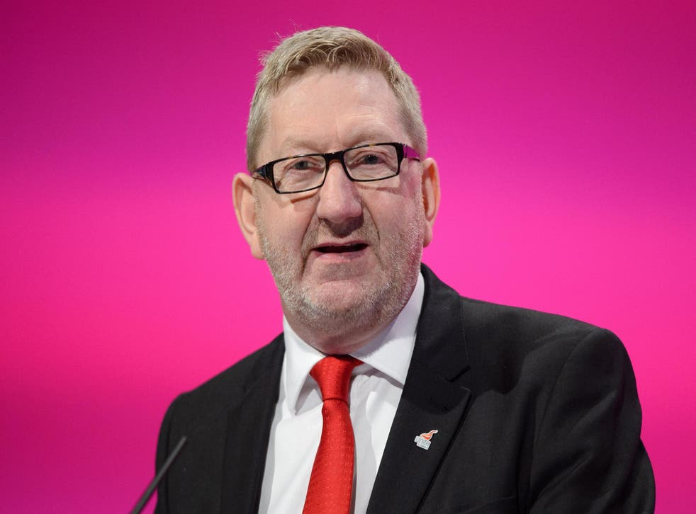 Mr McCluskey is seen as an ally of Labour leader Jeremy Corbyn