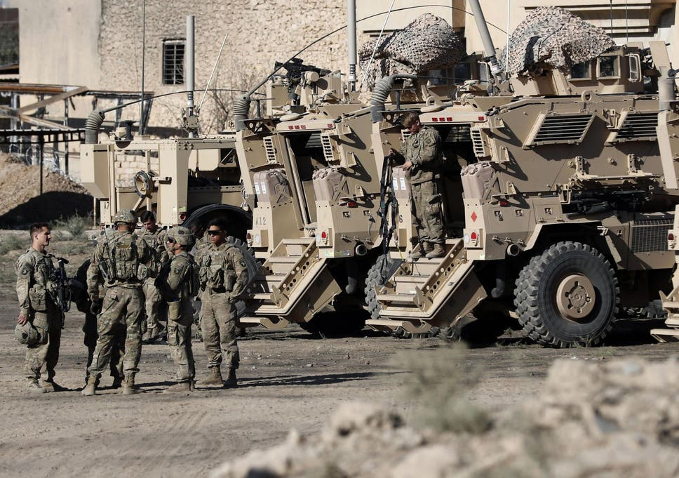 how many us troops in iraq