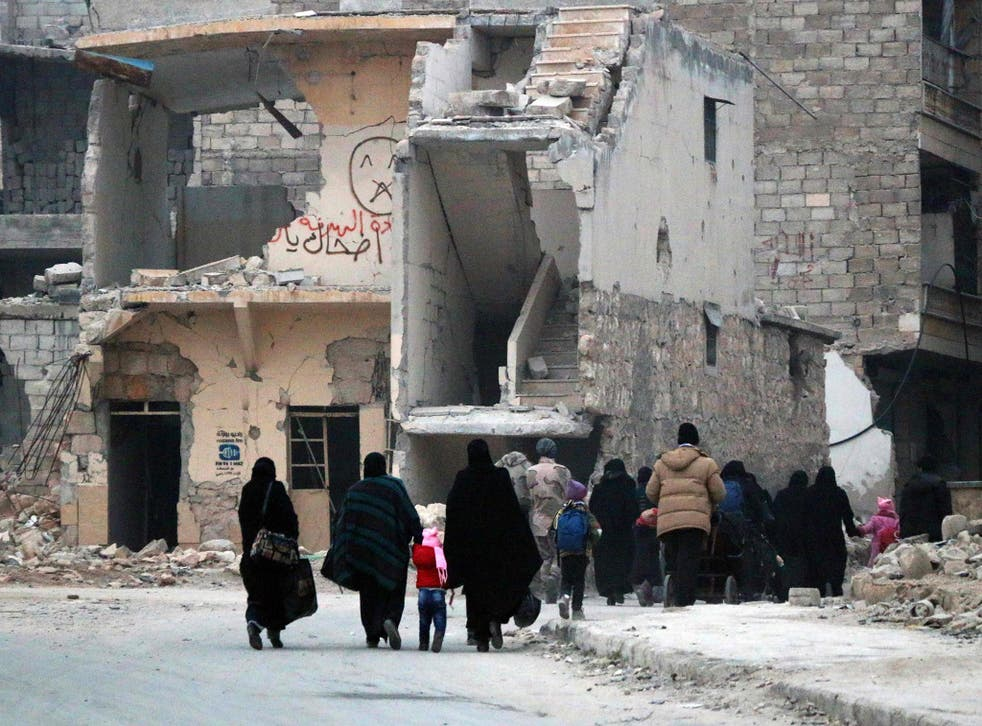 8,000 civilians, including 2,700 children, have already been evacuated from the rebel-held east