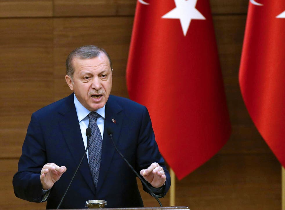 The meeting with Recep Tayyip Erdogan is likely to focus on the international effort to defeat Isis