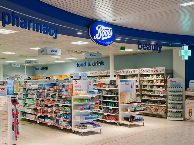 Boots has previously charged VAT on all items sold at airport stores – despite only having to pay the tax on purchase made by people travelling within the EU