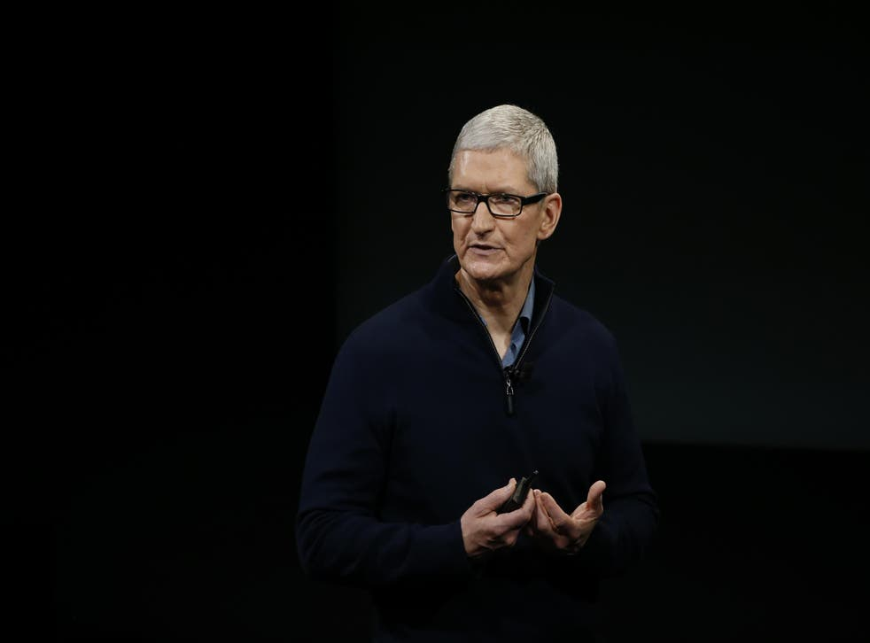 Mr Cook has never before openly outlined Apple's plans