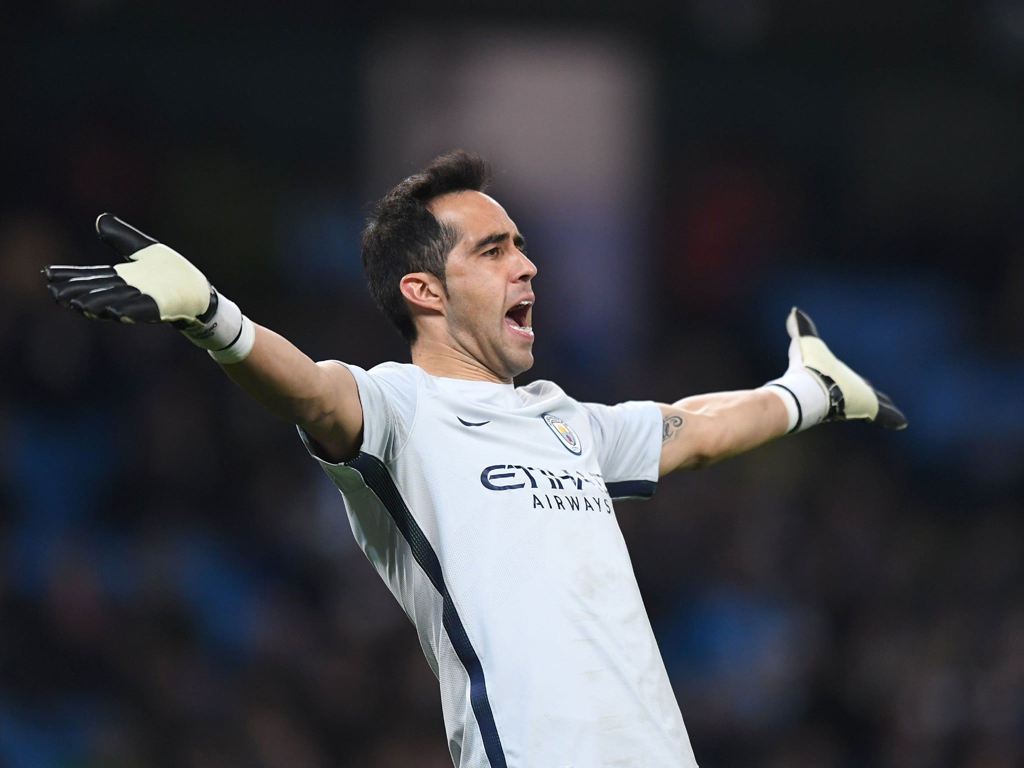 Manchester City Claudio Bravo is going nowhere despite link to