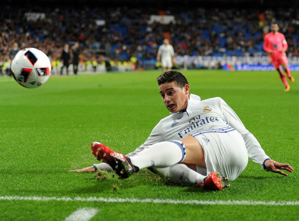 James Rodriguez has reportedly grown unhappy at the Bernabeu