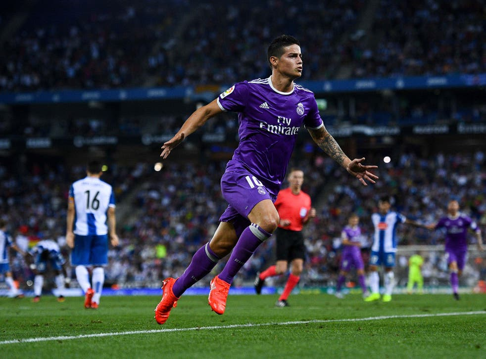 James Rodriguez has struggled to cement a first-team spot for himself at Real Madrid