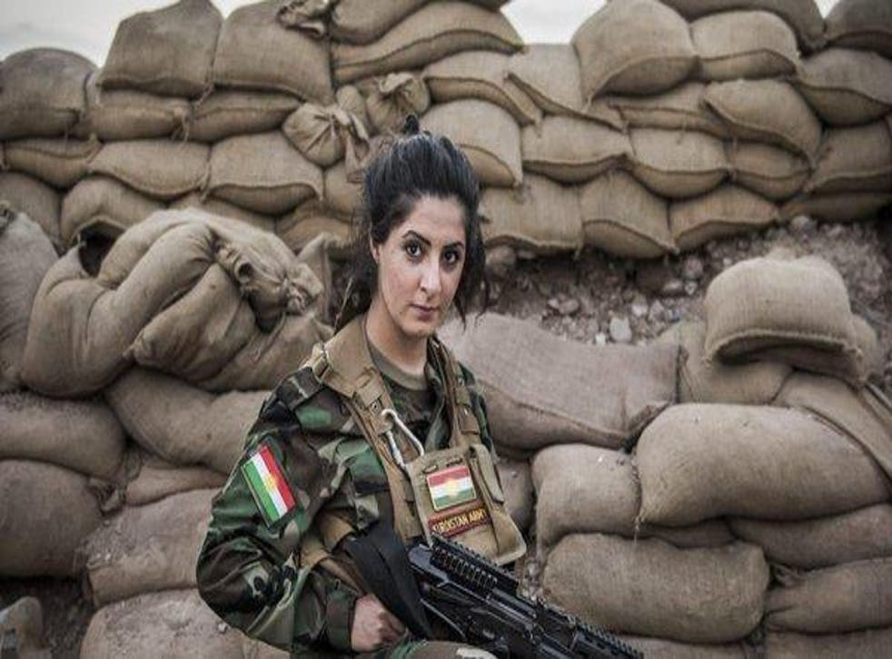 Kurdish-Danish Joanna Palani dropped out of university and travelled to Syria in 2014 at the age of 21 to 'fight for women's rights and European values'
