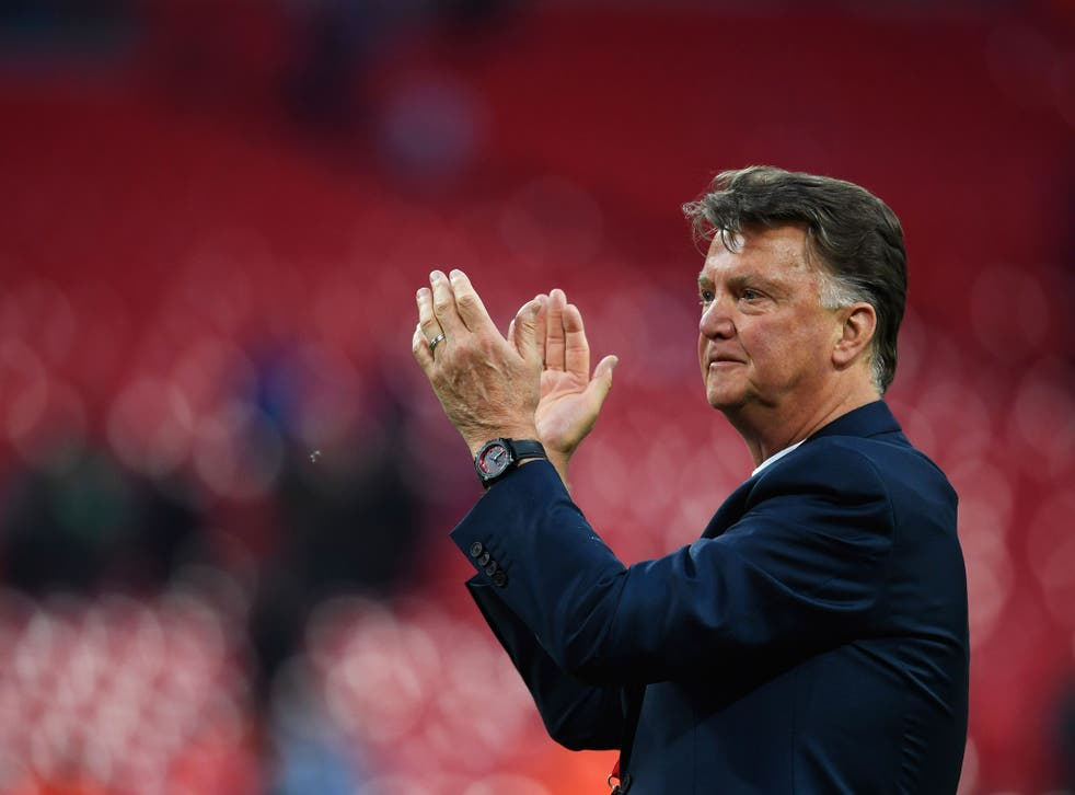 Louis van Gaal was dismissed by Manchester United last May