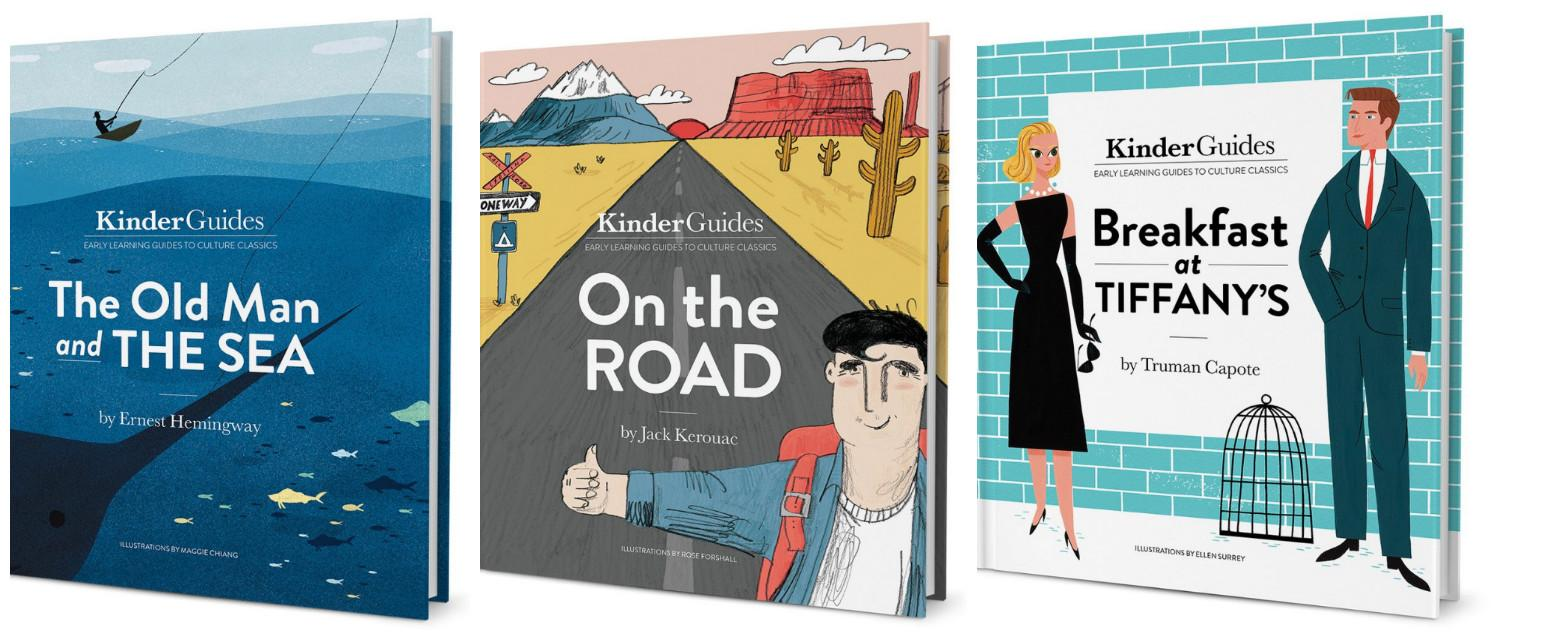 Hemingway, Kerouac and Salinger: Hipsters now read literary classics to their children