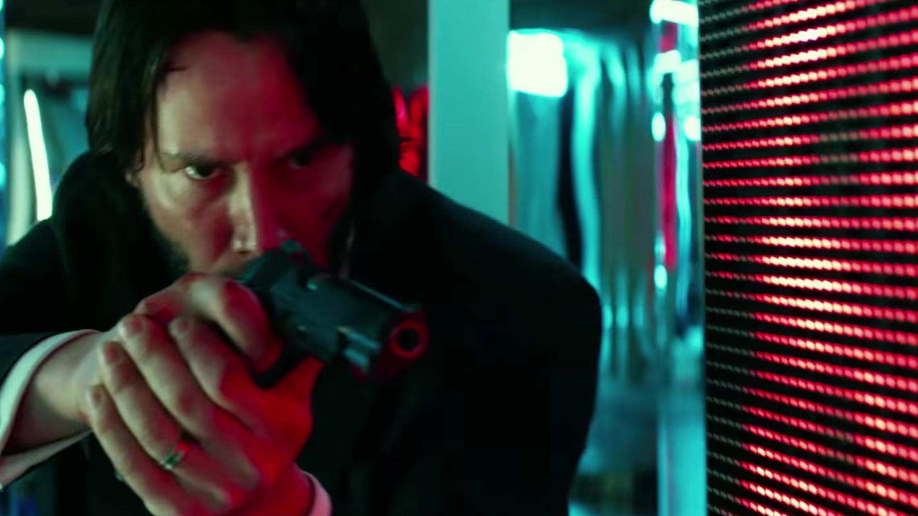 John Wick 2: John Wick 2 Trailer: Keanu Reeves Goes Off In High-octane