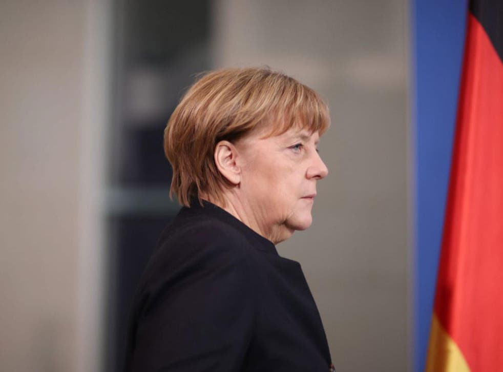 German Chancellor Angela Merkel came under political pressure following the attack