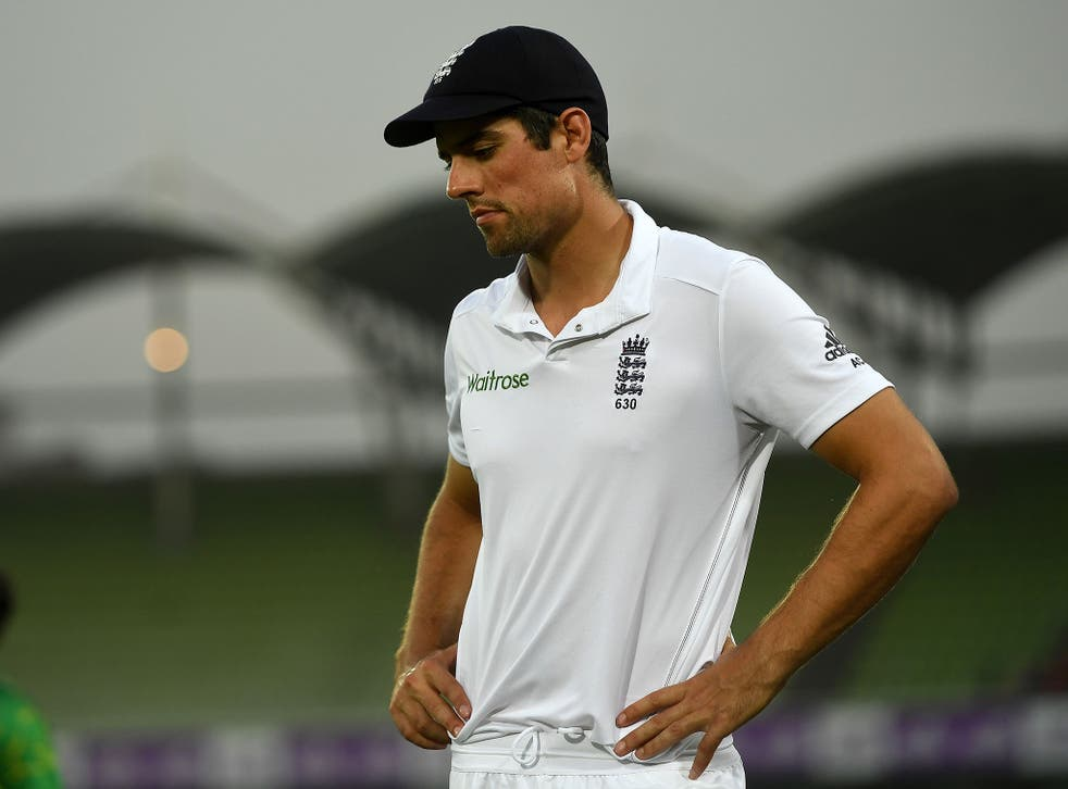 Speaking after defeat in the fifth Test, Cook confirmed he is now seriously considering his position after more than four years leading the side
