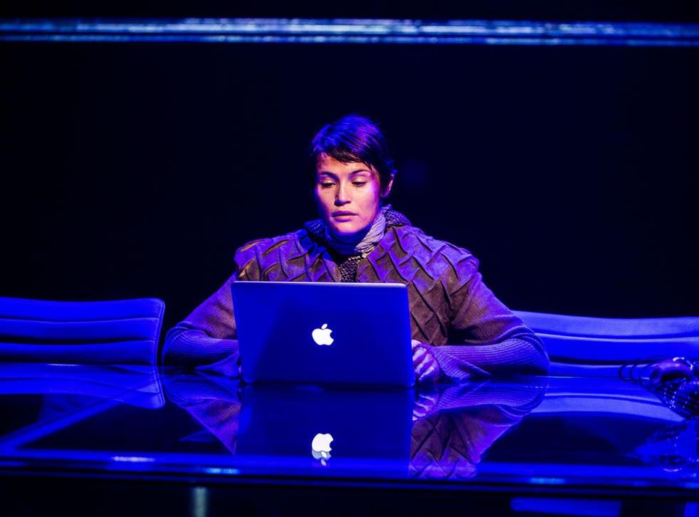 Gemma Arterton plays Joan in the Donmar Warehouse's production of Saint Joan