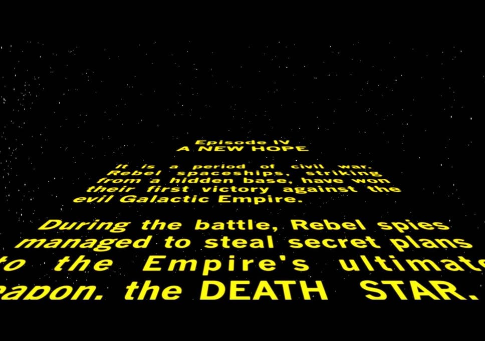 Rogue One: Star Wars opening crawl creator isn't happy with the