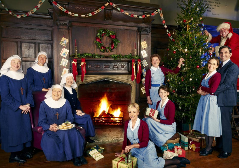 Victoria Christmas Special.Jenny Agutter Interview Call The Midwife Goes To South