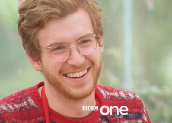 Great British Bake Off: James accused of 'cheating' in Christmas ...