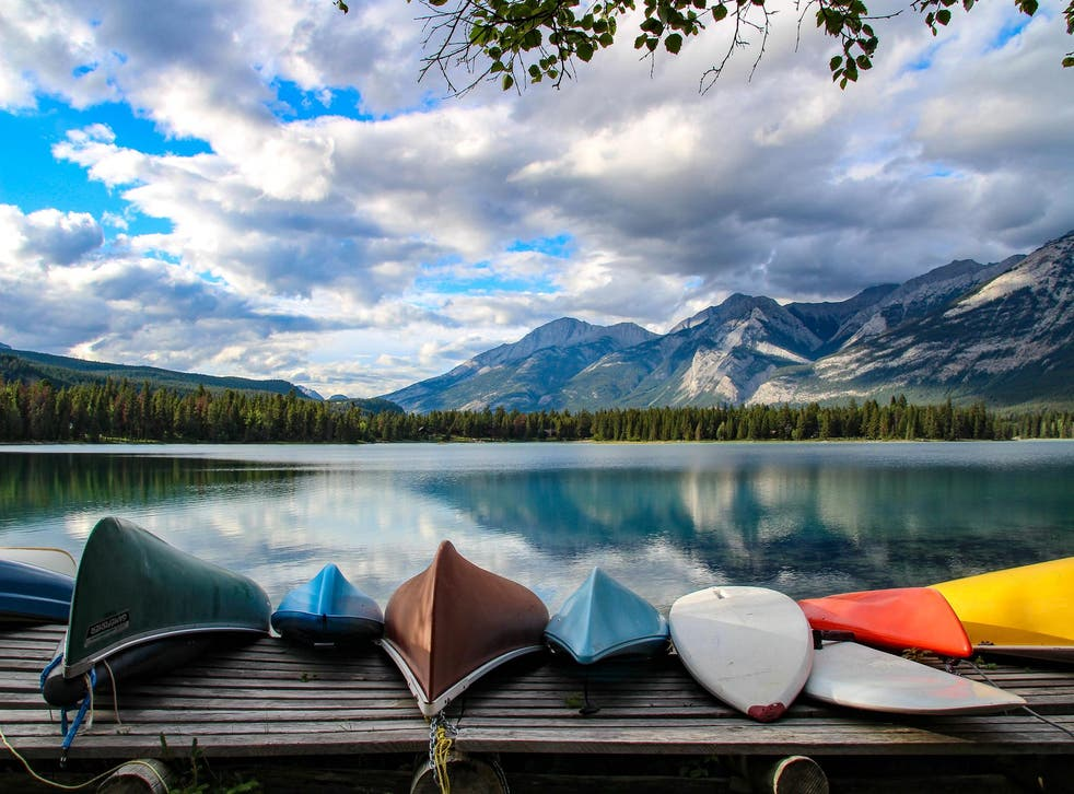 Canada's national parks are all free to visit in 2017, so you can tick the likes of Jasper off your list
