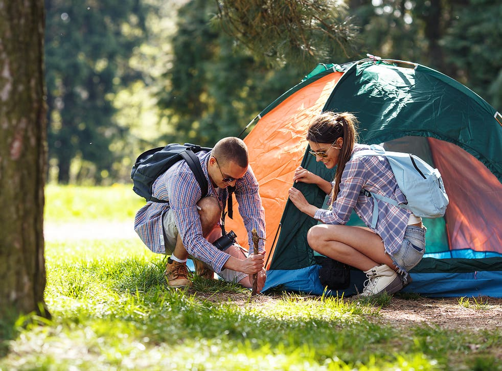 Halfords said sales of camping equipment were the highest on record