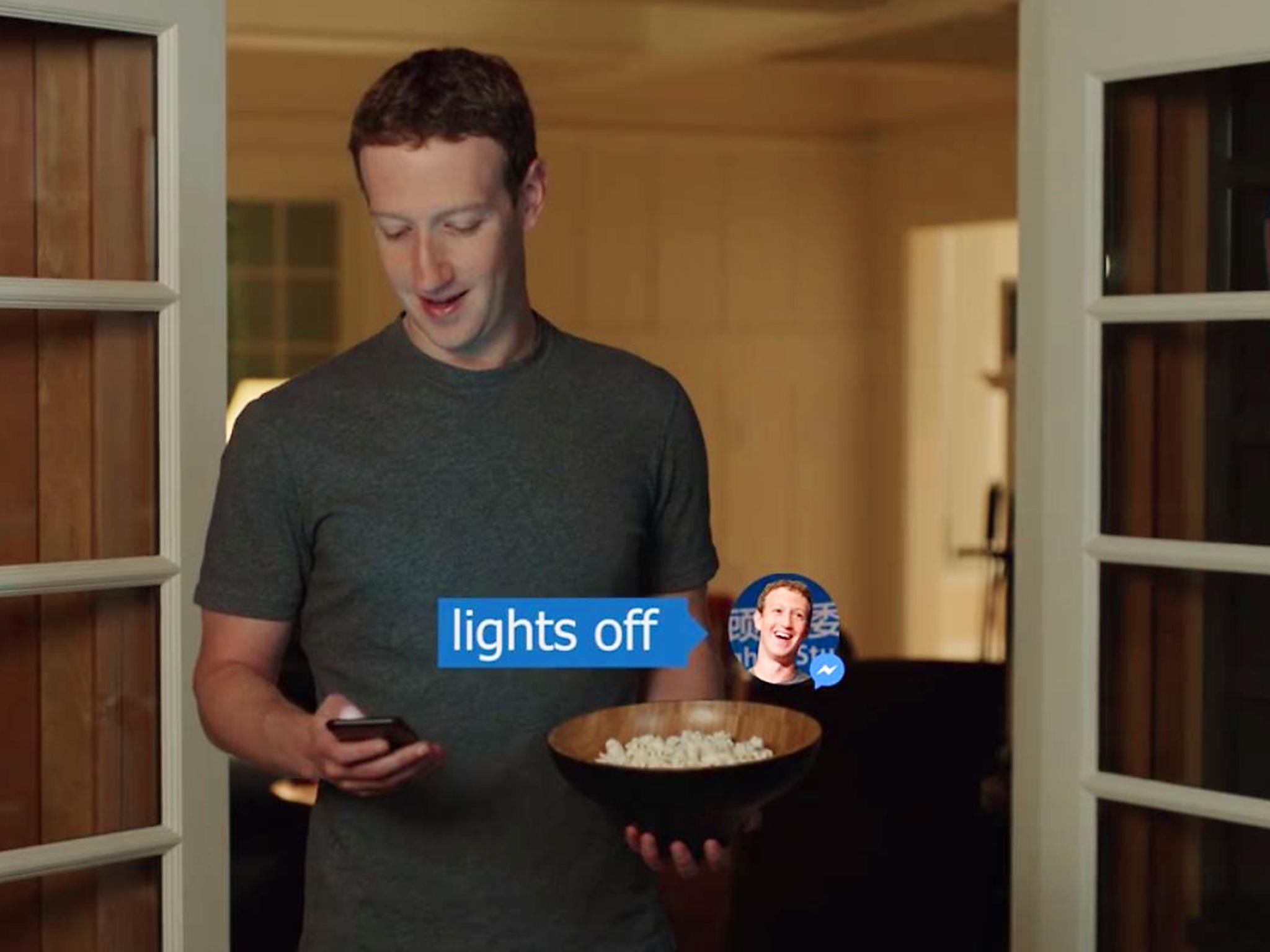 Facebook S Mark Zuckerberg Reveals Iron Man Style Ai