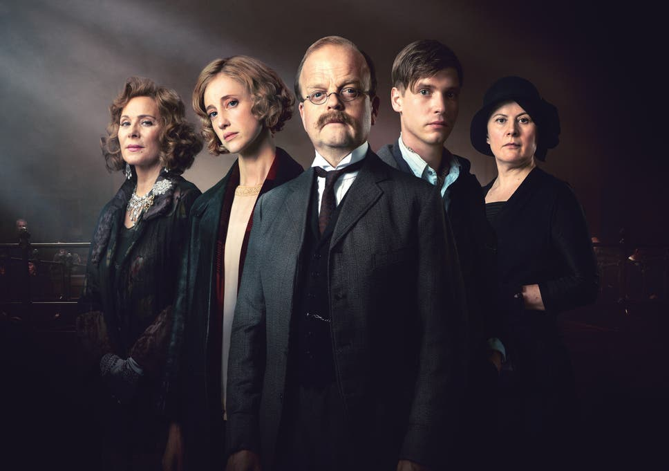 christmas can be murder kim cattral andrea riseborough toby jones billy howle - Christmas Tv Shows