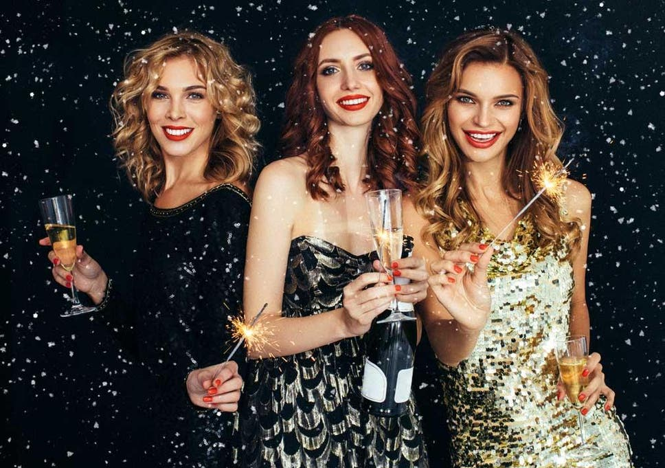940677c97b08 Shine on: Ring in New Years wearing showstopping festive sparkle and sequins