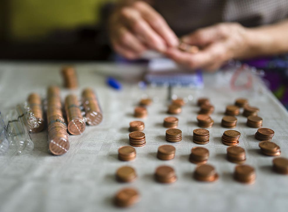 That's the pennies sorted. Now where did I put that pension?