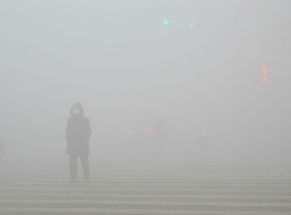 Dense smog has smothered much of China for several days in December