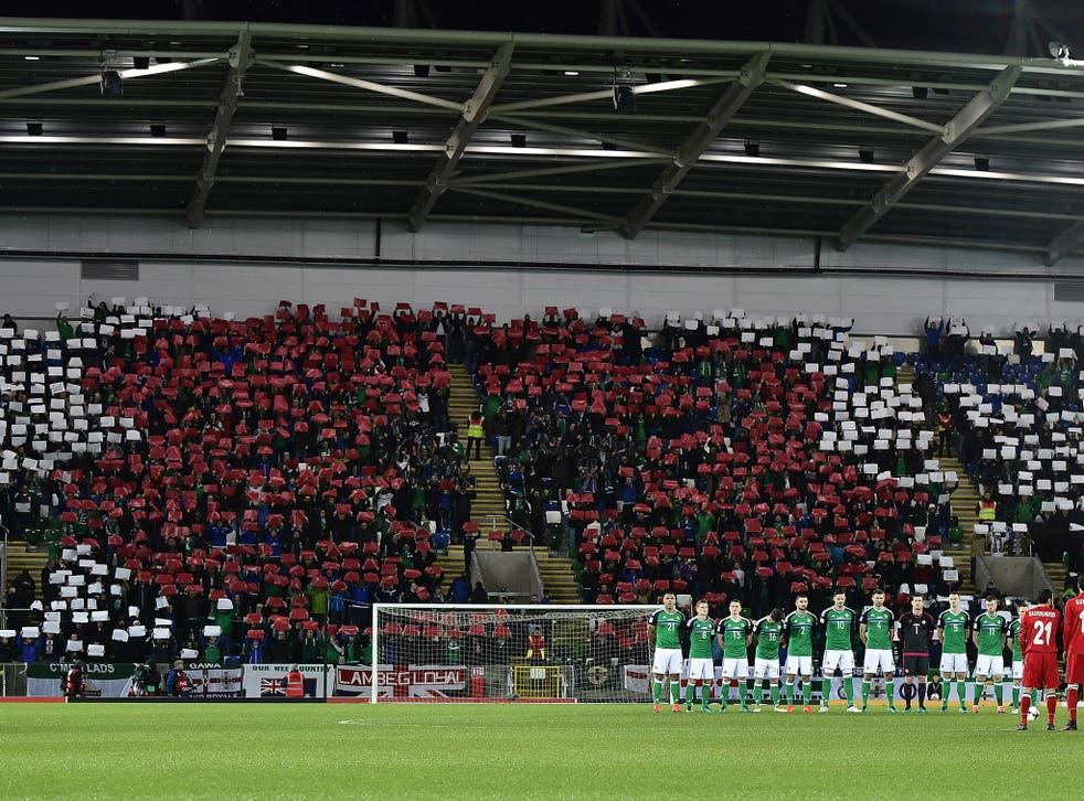 Northern Ireland have been fined over £11,000 for displaying poppies during their match against Azerbaijan