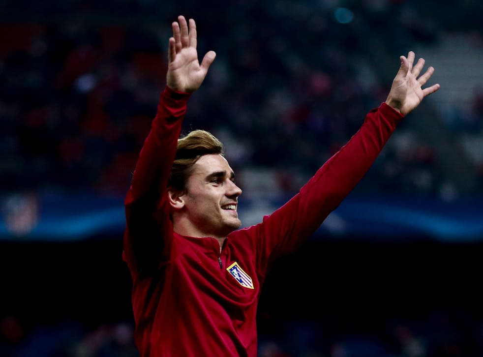 Griezmann has a buy-out clause of £84m