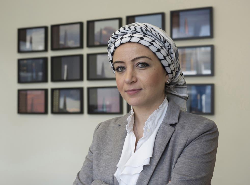 Syrian journalist Zaina Erhaim