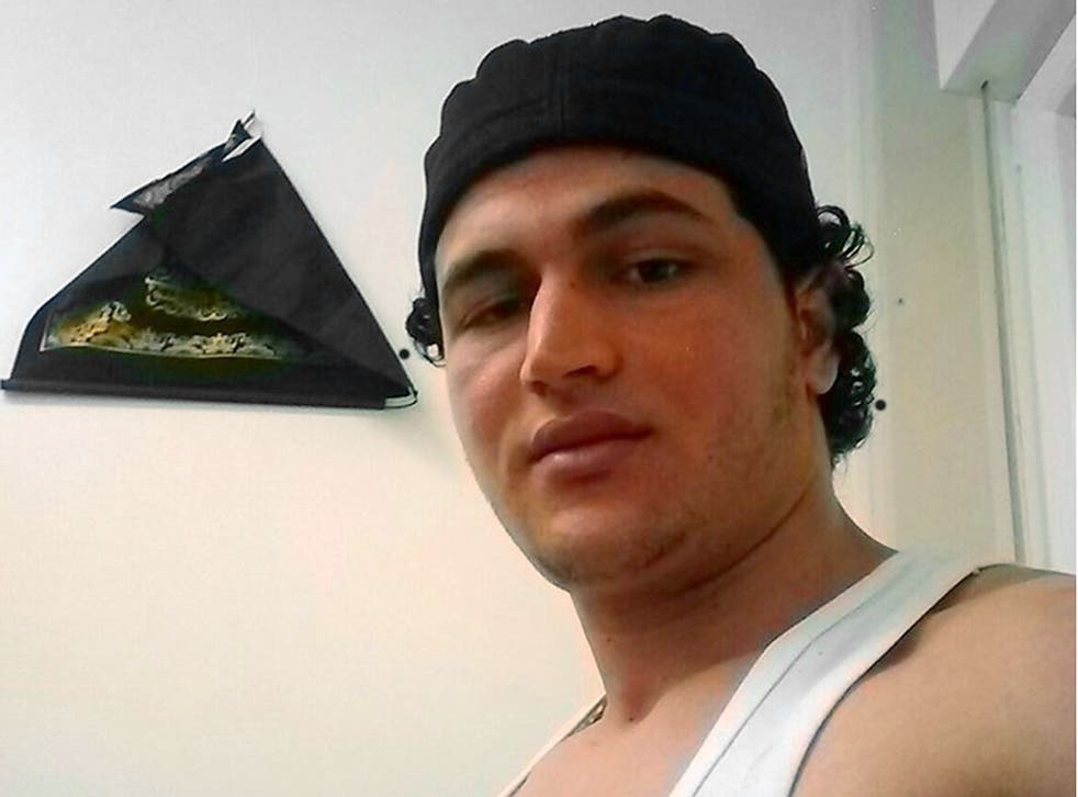 Anis Amri, man named as wanted in connection with the Berlin Christmas truck attack, Berlin, Germany