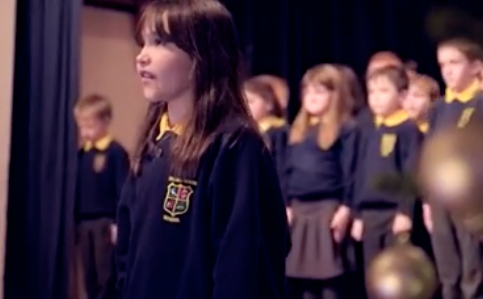 Girl with autism praised for Christmas version of Leonard