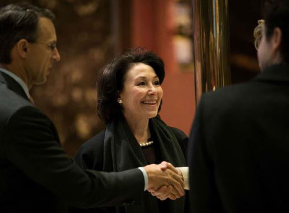 Safra Catz at Trump Tower last week