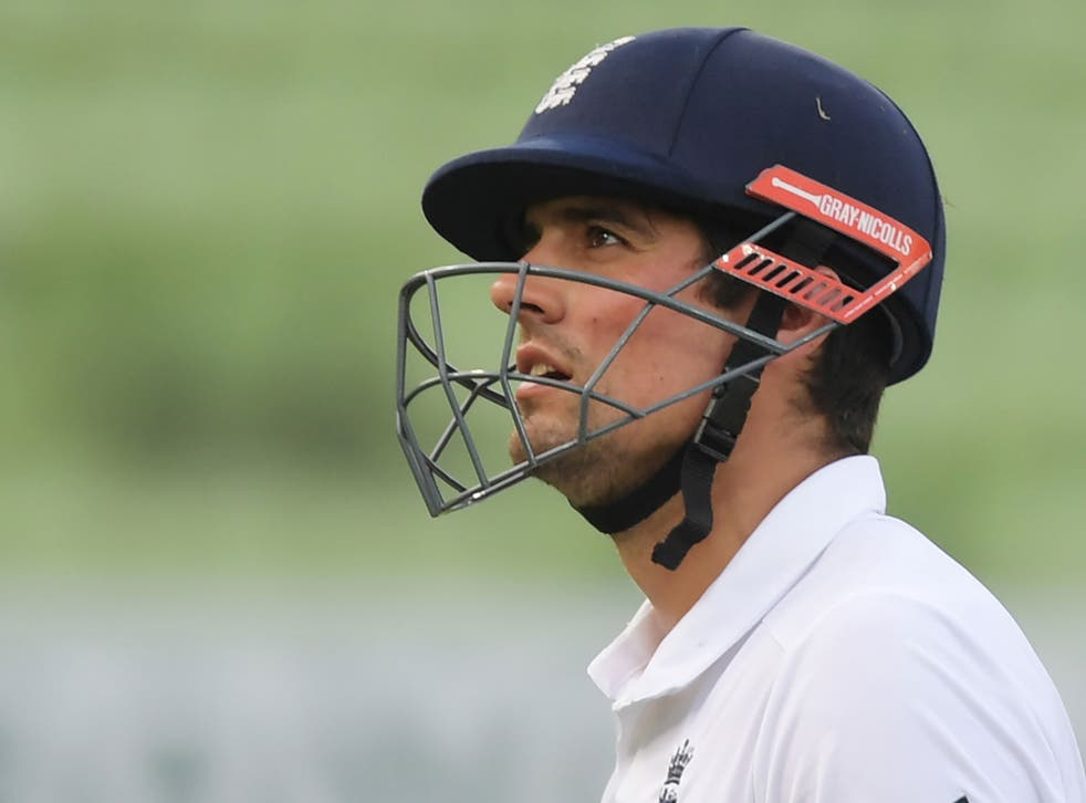 Alastair Cook has been named captain of the ICC's Test Team of the Year
