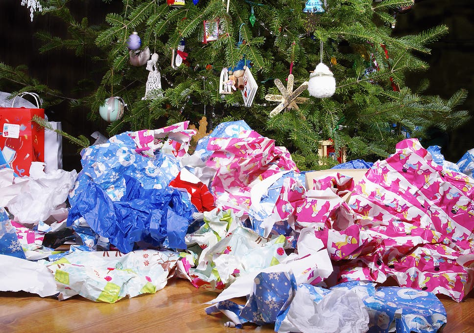 42b28c4f433e Christmas  Brits will throw away 108m rolls of wrapping paper this ...