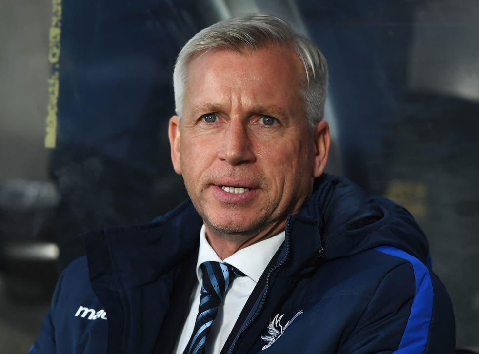 Alan Pardew has been sacked as Crystal Palace manager