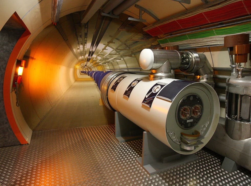 A model of the Large Hadron Collider