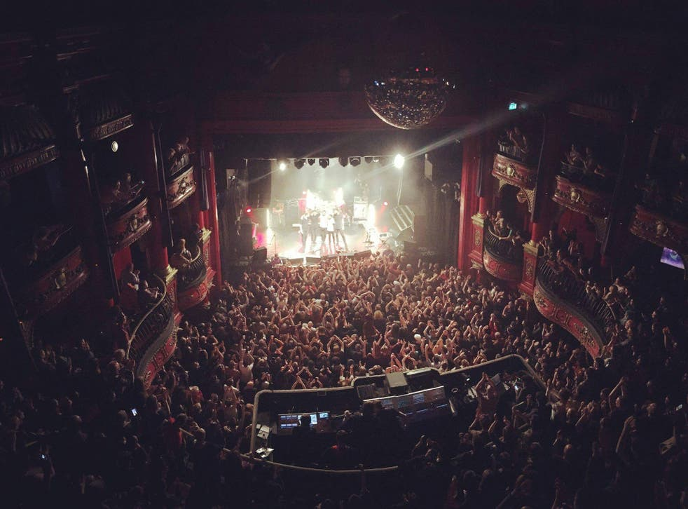 Maybeshewill bowing out at London's Koko, Friday 15th April 2016