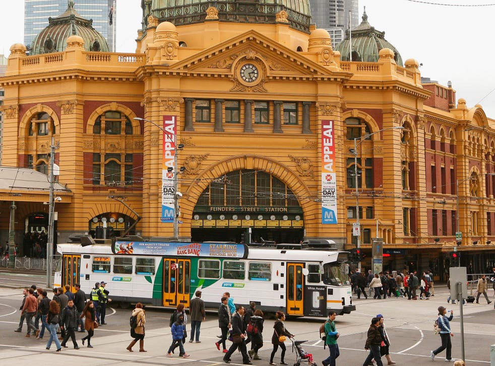 Flinders Street Railway Station was among the list of Christmas Day bombing targets
