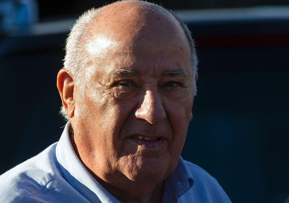 who is amancio ortega the richest man in the world the independent