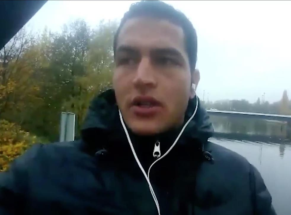 Berlin attack suspect Anis Amri appears in a video released by Isis following his death
