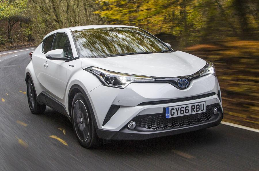 First drive in the all-new Toyota hybrid C-HR