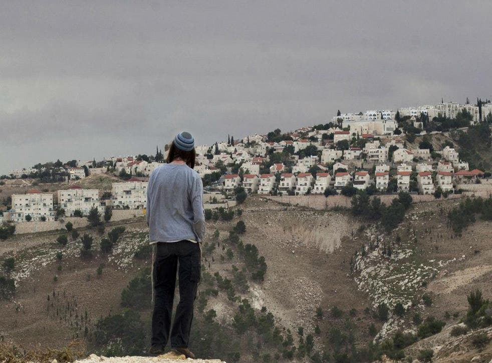 Mr Obama has condemned Jewish settlements in the Palestinian Territories